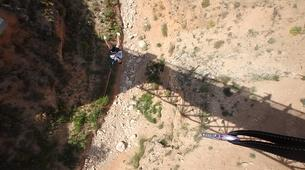 Saut à l'élastique-Alicante-Rope swinging in Villena (35m) near Alicante-3