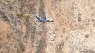 Saut à l'élastique-Alicante-Rope swinging in Villena (35m) near Alicante-1