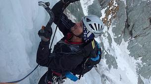 Ice Climbing-Großglockner-Intermediate ice climbing course in Tauer near Lienz-3