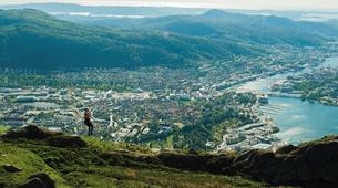 Zip-Lining-Bergen-Zip-lining from Mt. Ulriken in Bergen-1