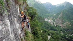 Via Ferrata-Ariege-Via Ferrata du Vicdessos en Ariège-1