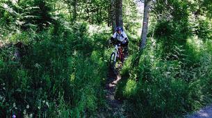 Mountain bike-Ariege-Mountain biking initiation in Orlu, Ariege-2