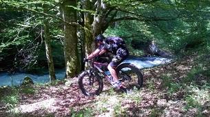 Mountain bike-Ariege-Mountain biking initiation in Orlu, Ariege-3