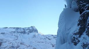 Ice Climbing-Großglockner-Advanced ice climbing course in Tauer near Lienz-4