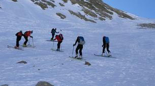 Backcountry Skiing-Nuria-Ski touring in Vallter 2000 near Nuria-1