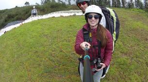 Paragliding-Calabria-Tandem paragliding in Bagnara Calabra-5