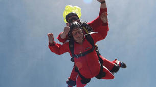 Parachutisme-Stuttgart-Tandem skydive over Schwabisch Hall near Stuttgart-6