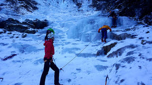 Ice Climbing-Großglockner-Beginner ice climbing course in Tauer near Lienz-2
