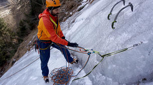 Ice Climbing-Großglockner-Beginner ice climbing course in Tauer near Lienz-6