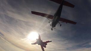 Skydiving-Stuttgart-Tandem skydive over Schwabisch Hall near Stuttgart-10