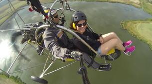 Paragliding-Sofia-Panoramic paratrike flight in Sofia-5