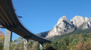 Bungee Jumping-Barcelona-Bridge Jumping in Saldes near Barcelona-2