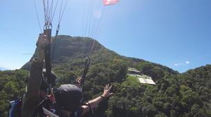 Paragliding-Rio de Janeiro-Tandem paragliding from Tijuca National Park, Rio de Janeiro-4