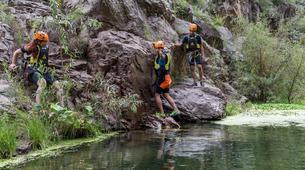 Canyoning-Queretaro-Paso de Vaqueros canyon in San Luis de la Paz from Queretaro-3
