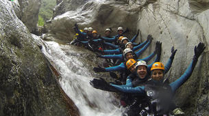 Canyoning-Céret-Anelles canyon in Ceret-1