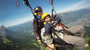 Gleitschirmfliegen-Garmisch-Partenkirchen-Tandem paragliding over Garmisch-Partenkirchen-3