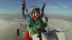 Paragliding-Sofia-Panoramic paratrike flight in Sofia-4