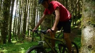 Mountain bike-Les 7 Laux-Downhill mountain bike course in the Alps near Grenoble-3