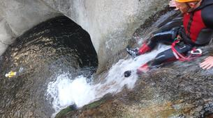 Canyoning-Prades (Spain)-Canyoning at Gorges du Llech in the French Pyrenees-6