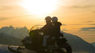 Snowmobiling-Les Carroz, Le Grand Massif-Snowmobile excursions in Les Carroz d'Arâches, Grand Massif-4