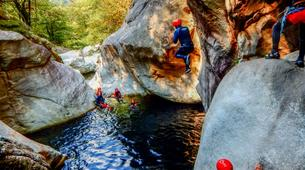 Canyoning-Ticino-Canyoning in Boggera canyon, Valle di Cresciano-5