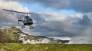 Helicopter tours-Reykjavik-Scenic helicopter flight and landing at the Hengill geothermal area-1