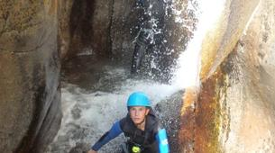 Canyoning-Cevennes National Park-Tapoul canyon in the Cevennes National Park-8