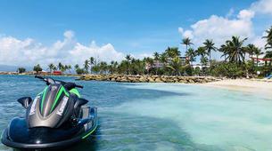 Jet Skiing-Le Gosier-Jet ski initiation in Le Gosier, Guadeloupe-2