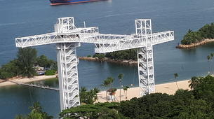Bungee Jumping-Singapore-Bungy jumping (47m) in Sentosa-1
