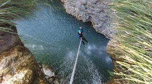 Canyoning-Montpellier-Canyon du Diable près de Montpellier-6