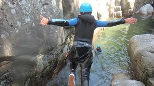 Canyoning-Cevennes National Park-Tapoul canyon in the Cevennes National Park-5
