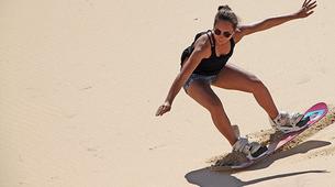 Sandboard-Port Elizabeth-Sandboarding session near Port Elizabeth-1