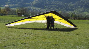 Ala detla-Annecy-Hang gliding tandem flight above Annecy's Lake-2