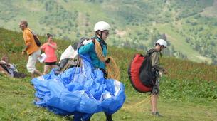 Parapente-Samoëns, Le Grand Massif-Stage Initiation Parapente à Samoëns-3