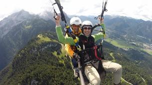 Gleitschirmfliegen-Garmisch-Partenkirchen-Tandem paragliding over Garmisch-Partenkirchen-5