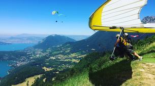 Ala detla-Annecy-Hang gliding tandem flight above Annecy's Lake-6