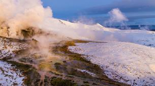 Helicopter tours-Reykjavik-Scenic helicopter flight and landing at the Hengill geothermal area-3