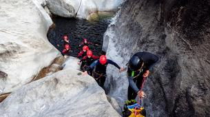 Canyoning-Ticino-Canyoning in Boggera canyon, Valle di Cresciano-6