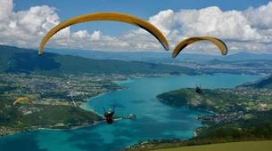 Paragliding-Annecy-Paragliding tandem flight above Annecy lake-1