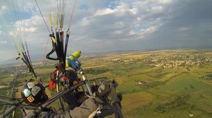 Paragliding-Sofia-Panoramic paratrike flight in Sofia-2