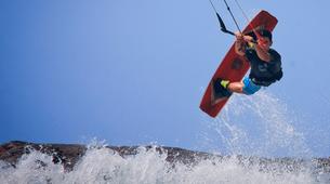 Kitesurfing-Corralejo, Fuerteventura-Private and semi private beginners kitesurfing course in Corralejo-12