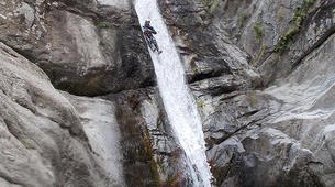 Canyoning-Céret-Anelles canyon in Ceret-3