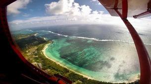 Microlight flying-Belle Vue Maurel-Vol en ULM à l'île Maurice depuis Mon Loisir-3