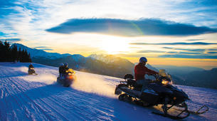 Snowmobiling-Les Carroz, Le Grand Massif-Snowmobile excursions in Les Carroz d'Arâches, Grand Massif-3