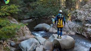 Canyoning-Girona-Canyoning at La Riera d'Osor Gorge near Girona-1