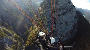 Gleitschirmfliegen-Garmisch-Partenkirchen-Tandem paragliding over Garmisch-Partenkirchen-4