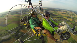 Paragliding-Sofia-Panoramic paratrike flight in Sofia-6