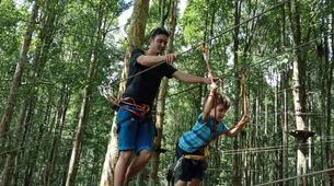 Zip-Lining-Kebun Raya Bali-Canopy tours in Kebun Raya Bali-4
