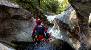 Canyoning-Ticino-Canyoning in Boggera canyon, Valle di Cresciano-4