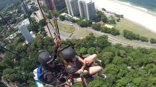 Paragliding-Rio de Janeiro-Tandem paragliding from Tijuca National Park, Rio de Janeiro-6